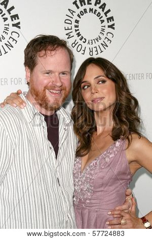 Eliza Dushku and Joss Whedon at 'Dollhouse' presented by the Twenty-Sixth Annual William S. Paley Television Festival. Arclight Cinerama Dome, Hollywood, CA. 04-15-09