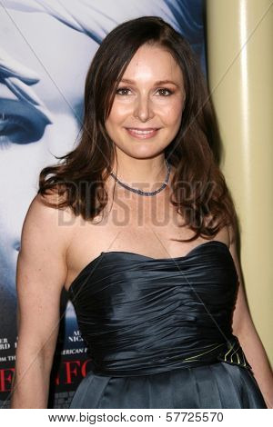 Elle Travis at the Los Angeles Premiere of 'The Informers'. Arclight Theater, Hollywood, CA. 04-16-09