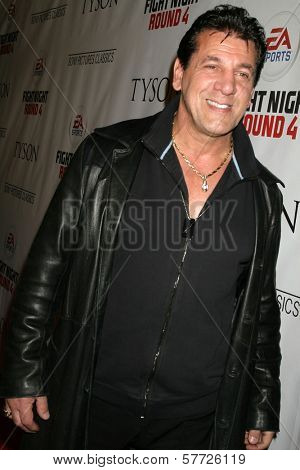 Chuck Zito  at the Los Angeles Premiere of 'Tyson'. Pacific Design Center, West Hollywood, CA. 04-16-09