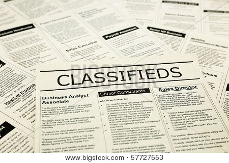 Career News On Classifieds Ads, Search Jobs