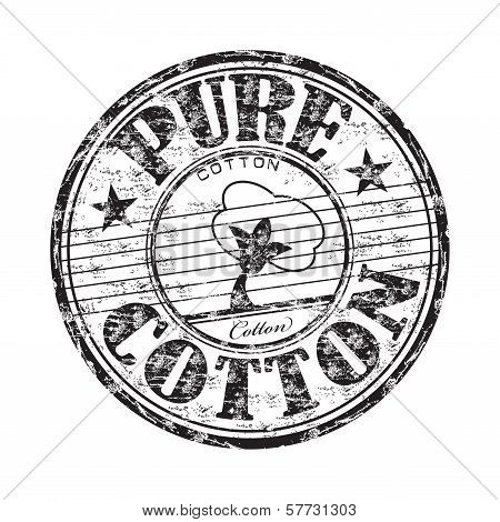 Pure cotton rubber stamp