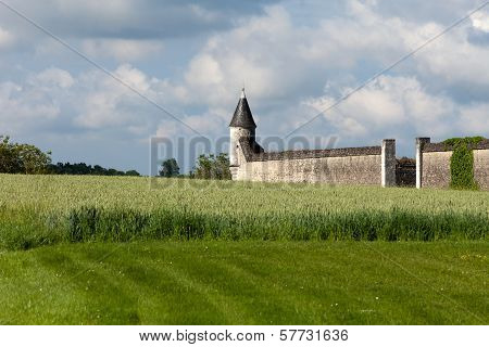 Chartreuse du Liget - Cartusian monastery founded by the Plantagenet king Henry II. Loire Valley Fra