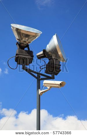 Security Camera Nad Lamps