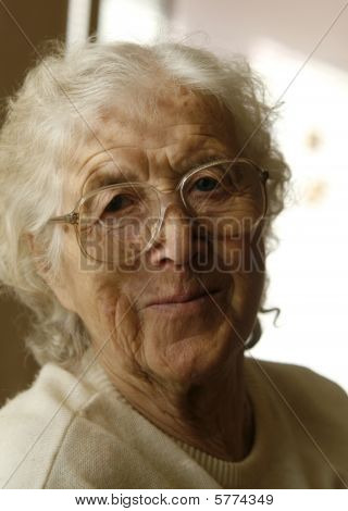 Nice Grandmother Smiling