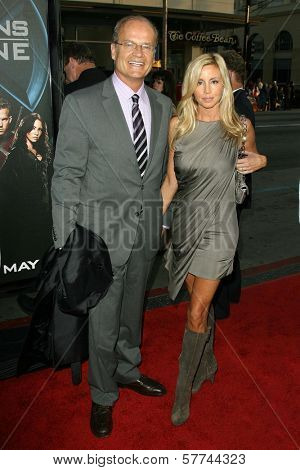 Kelsey Grammer and Camille Grammer  at the Industry Screening of 'X-Men Origins Wolverine'. Grauman's Chinese Theater, Hollywood, CA. 04-28-09