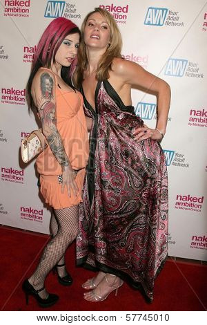 Joanna Angel and Samantha Ryan at the Los Angeles Premiere of 'Naked Ambition an R-Rated Look at an X-Rated Industry'. Laemmle Sunset 5 Cinemas, West Hollywood, CA. 04-30-09