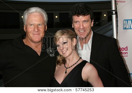 Randy West with Sunny Lane and Nick Sharp at the Los Angeles Premiere of 'Naked Ambition an R-Rated Look at an X-Rated Industry'. Laemmle Sunset 5 Cinemas, West Hollywood, CA. 04-30-09