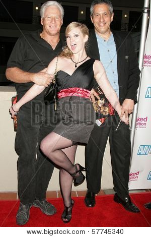 Randy West with Sunny Lane and Herschel Savage at the Los Angeles Premiere of 'Naked Ambition an R-Rated Look at an X-Rated Industry'. Laemmle Sunset 5 Cinemas, West Hollywood, CA. 04-30-09