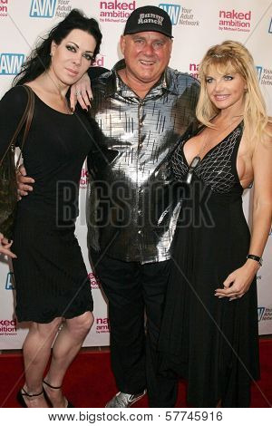 Joanie Laurer with Denis Hof and Vicky Vette  at the Los Angeles Premiere of 'Naked Ambition an R-Rated Look at an X-Rated Industry'. Laemmle Sunset 5 Cinemas, West Hollywood, CA. 04-30-09