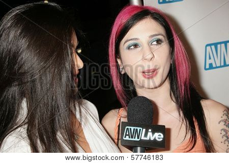 Joanna Angel  at the Los Angeles Premiere of 'Naked Ambition an R-Rated Look at an X-Rated Industry'. Laemmle Sunset 5 Cinemas, West Hollywood, CA. 04-30-09