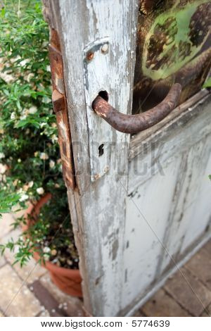 Rusty Old Conservatory Door