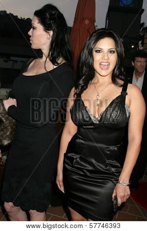 Joanie Laurer and Sunny Leone  at the Los Angeles Premiere of 'Naked Ambition an R-Rated Look at an X-Rated Industry'. Laemmle Sunset 5 Cinemas, West Hollywood, CA. 04-30-09