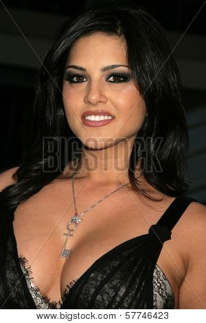 Sunny Leone  at the Los Angeles Premiere of 'Naked Ambition an R-Rated Look at an X-Rated Industry'. Laemmle Sunset 5 Cinemas, West Hollywood, CA. 04-30-09