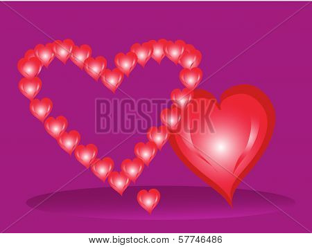 Three Hearts By St. Valentine's Day