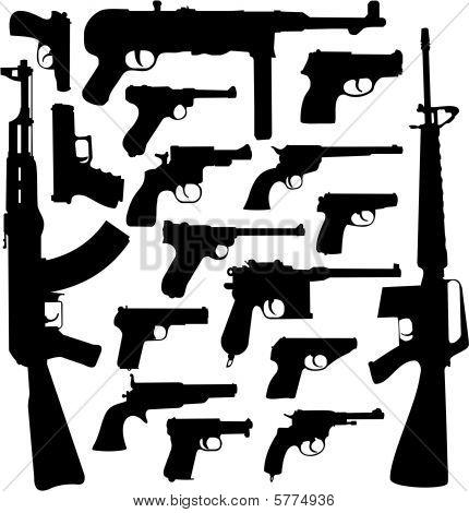 Gun collection II - World legends (Top Guns)