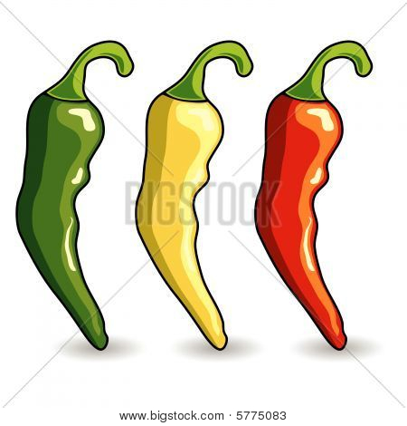 Mexican Hot Chili Peppers