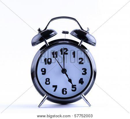 Alarm Clock  With Five O'clock