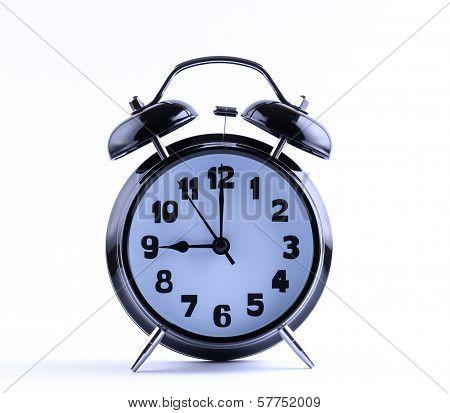 Alarm Clock  With Nine O'clock