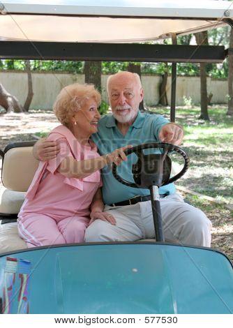 Golf Cart - Backseat Driving
