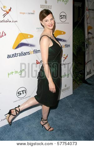 Kiersten Warren at the Australians In Film 2009 Breakthrough Awards. Hollywood Roosevelt Hotel, Hollywood, CA. 05-08-09