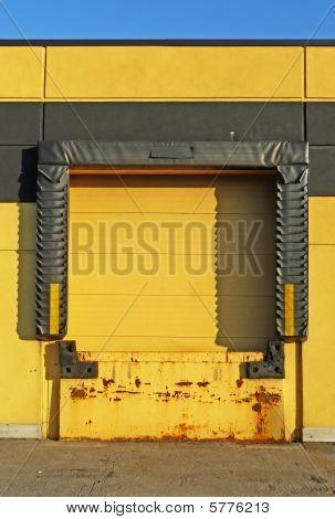 Yellow Loading Dock