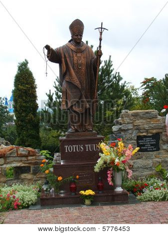 The Monument Of John Paul II