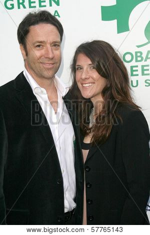 Scott W. Mckinlay Director of Creep Van and Amy Wehrell at Global Green USA's 13th Annual Millennium Awards. Fairmont Miramar Hotel, Santa Monica, CA. 05-30-09