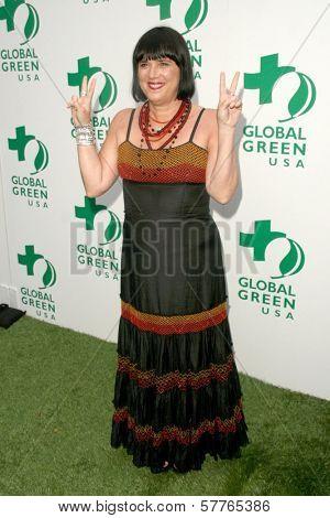 Eve Ensler at Global Green USA's 13th Annual Millennium Awards. Fairmont Miramar Hotel, Santa Monica, CA. 05-30-09
