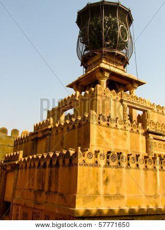Pedestal Mounted Torch Rajasthan
