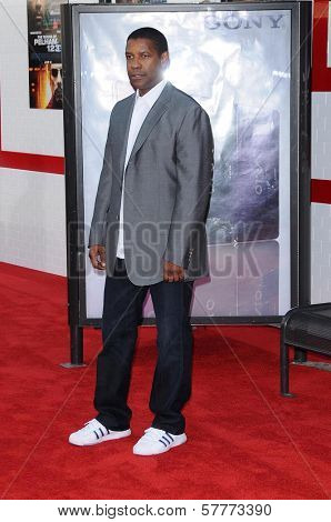 Denzel Washington at the Los Angeles Premiere of 'The Taking of Pelham 123'. Mann Village Theatre, Westwood, CA. 06-04-09