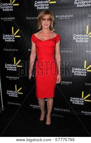 Allison Janney at the Sundance Institute Benefit Presented by Tiffany & Co., Soho House, Los Angeles, CA 06-06-12