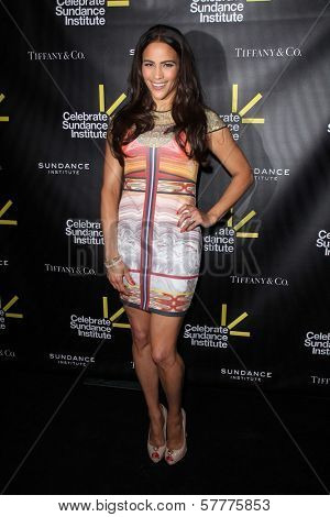 Paula Patton at the Sundance Institute Benefit Presented by Tiffany & Co., Soho House, Los Angeles, CA 06-06-12