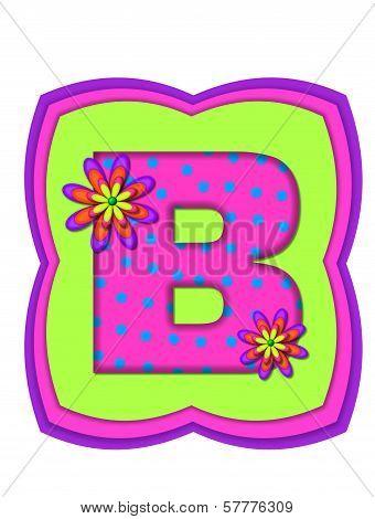 Alphabet Daisy Daze B