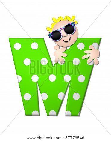 Alphabet Bahama Sunny M