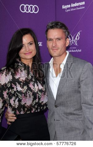 Rosetta Getty, Balthazar Getty at the 2012 Chrysalis Butterfly Ball, Private Location, Los Angeles, CA 06-09-12
