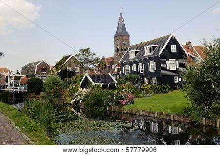 Marken, Traditional Dutch Village, Netherlands