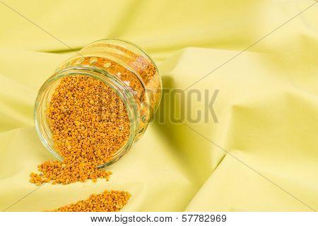 Jar With Bee Pollen