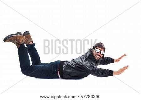 Pilot Pretending To Land