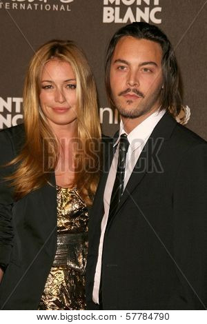Cat Deeley and Jack Huston at the Montblanc 'Signature for Good' Charity Gala. Paramount Studios, Los Angeles, CA. 02-20-09