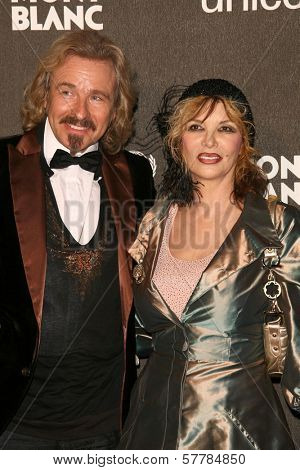 Thomas Gottschalk and Thea Gottschalk  at the Montblanc 'Signature for Good' Charity Gala. Paramount Studios, Los Angeles, CA. 02-20-09