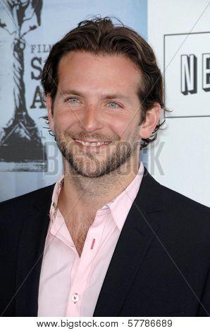 Bradley Cooper at the 2009 Film Independent's Spirit Awards. Santa Monica Pier, Santa Monica, CA. 02-21-09