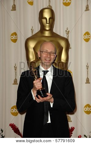 Chris Dickens  in the Press Room at the 81st Annual Academy Awards. Kodak Theatre, Hollywood, CA. 02-22-09