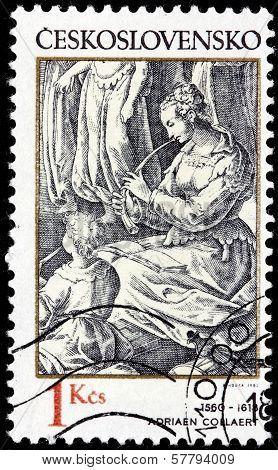 Adriaen Collaert Stamp