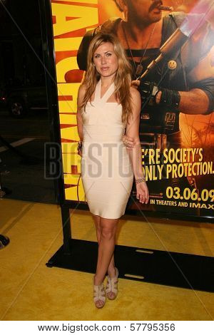 Vail Bloom at the U.S. Premiere of 'Watchmen'. Grauman's Chinese Theatre, Hollywood, CA. 03-02-09