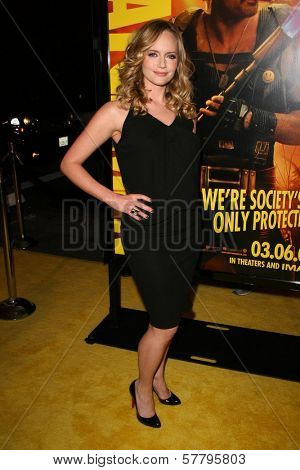 Marley Shelton at the U.S. Premiere of 'Watchmen'. Grauman's Chinese Theatre, Hollywood, CA. 03-02-09