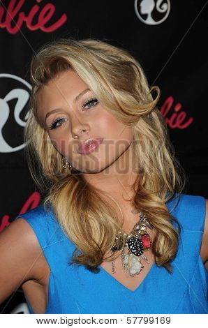 Alyson Michalka  at Barbie's 50th Birthday Party. Barbie's Real-Life Malibu Dream House, Malibu, CA. 03-09-09