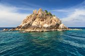 Beautiful sea at tropical island, Koh Tao