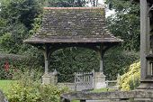 Lych-gate At Leigh In Surrey. England