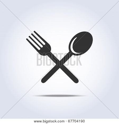 fork spoon icon