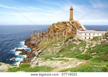 Lighthouse Cabo Vilan.